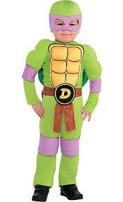 Tmnt Halloween Costumes Toddler Boys Donatello Muscle Costume Teenage Mutant Ninja