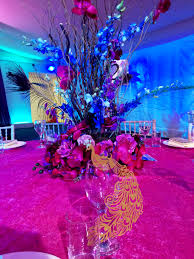 peacock themed wedding interior design amazing peacock themed table decorations cool