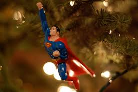 tree ornaments superman flying to save the day flickr