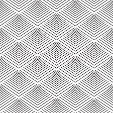 modern geometric seamless pattern ornament background print design