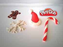 massinha play doh ornaments ornamentos de natal