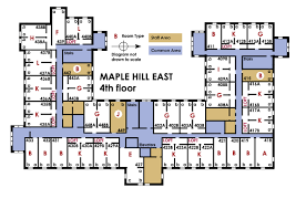 Movie Floor Plans by University Housing Campus Communities Maple Hill East