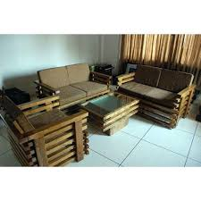 Teak Wood Sofa Set At Rs  Set Teak Sofa ID - Teak wood sofa set designs
