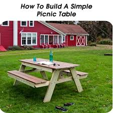 Wood Plans Outdoor Table by 337 Best Diy Outdoor Furniture Images On Pinterest Garden