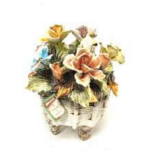 capodimonte basket of roses capodimonte basket 18 listings