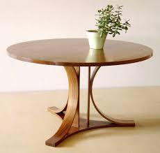 Modern Round Wooden Dining Table Starrkingschool - Designer round dining table