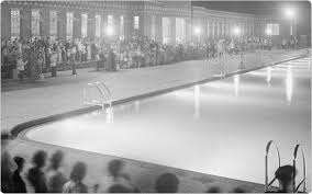 1936 the year of the city swimming pool ephemeral new york