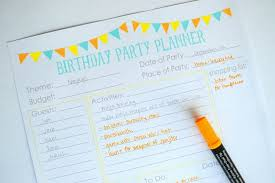 printable party planner checklist 11 free printable party planner checklists tip junkie