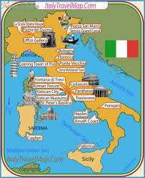 best tourist map of italy map tourist attractions travelsfinders
