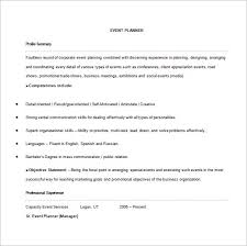 100 Planner Resume 31 Executive Resume Templates In Word by Event Planner Resume Template U2013 9 Free Word Excel Pdf Format