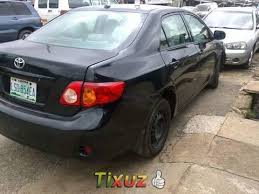 toyota corolla 09 toyota corolla surulere 33 2009 toyota corolla used cars in