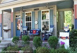 porch decorating ideas 4th of july front porch decorating ideas hoosier homemade