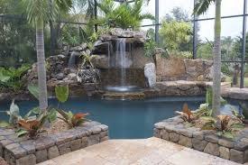 Backyard Waterfall Ideas Pool Waterfall Ideas You Can Recreate In Your Backyard Decor