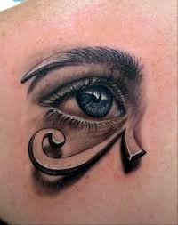 3d egyptian style of eye tattoo design photos pictures and