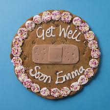 get well soon cookies get well soon plaster chocolate chip cookie yumbles