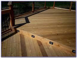 solar lights for deck steps decks home decorating ideas