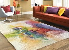 tappeto design moderno tappeto design moderno 200 x 300 cm multicolore