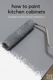 how to redo metal kitchen cabinets how to paint kitchen cabinets budget friendly kitchen makeover
