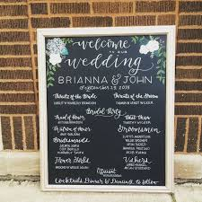 chalkboard wedding program 25 best wedding program chalkboard ideas on wedding