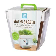 back to the roots 3 gal water garden tank 32000 the home depot