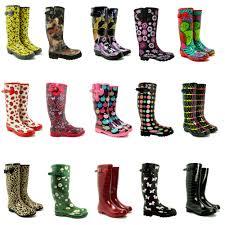 womens boots sale ebay sale womens funky welly wellies wellington