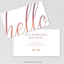 Standard Business Card Format 50 Hello Standard Size Business Cards U2014 Mariam Abdallah