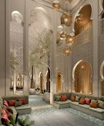 Moroccan palatial Lovely Uplifting Decor and Design