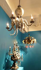 Octopus Ceiling Light by Adam Wallacavage Presents Magic Mountain The Worley Gig