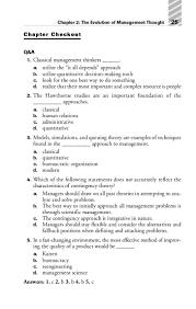 principles of management cliffs quick review