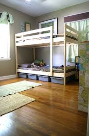 Shared Boys Room With Bunk Beds Hey Beth Baker - Ikea mydal bunk bed