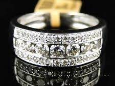 mens diamond wedding ring men s diamond white gold 14k wedding anniversary bands ebay
