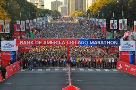 Map Of Boston Marathon Course by Chicago Marathon Spectators U0027 Guide Parking Course Map