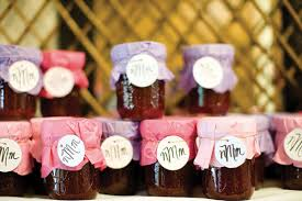 jam wedding favors edible wedding favors your guests will bridalguide