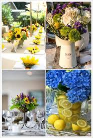 d coration mariage chetre decoration mariage provence centre de table fleur tournesol citron