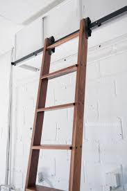 Bookcase Ladder Hardware by Rolling Library Ladder U2014 Barn Door Hardware Custom Doors And