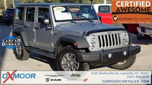 certified jeep wrangler certified pre owned 2016 jeep wrangler unlimited rubicon 4d sport