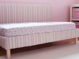 Toddler Bed With High Sides Diy Upholstered Toddler Daybed Hgtv