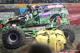 monster trucks grave digger bad to the bone chiil mama win tickets advance auto parts monster jam chicago