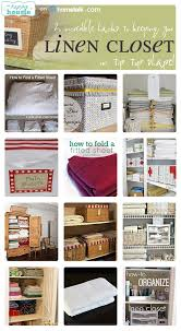 awesome linen closet organization the happy housie