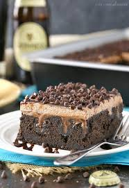 guinness chocolate poke cake life love and sugar