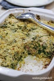 recette cuisine nicoise variations gourmandes tian de blettes à la niçoise