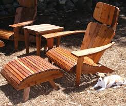 Comfortable Patio Furniture Maybe The Worlds Most Comfortable Adirondack Chair Mid Century