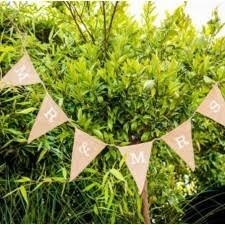 guirlande fanion mariage guirlande papier guirlandes mariage pour la décoration de votre salle