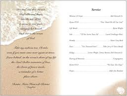 memorial service programs templates free free funeral program template 2010 funeral program