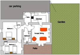 Holiday House Floor Plans Howdiemont Holiday Cottage Low Steads Alnwick Northumberlandlow Steads