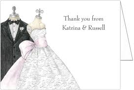 bridal cards and groom bridal shower thank you cards storkie
