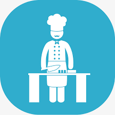 icone cuisine le chef de l icône cuisinier icône simple png et vecteur pour