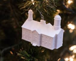 aba nigeria lds temple christmas ornament