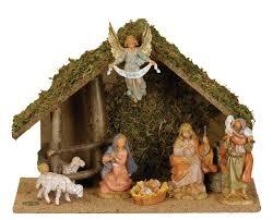 fontanini by figure centennial nativity set with