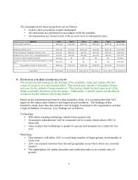 general project feasibility study template free download